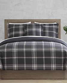 CLOSEOUT! Danbury Gaines 4-Pc. Full/Queen 100% Cotton Comforter Set