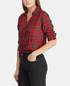 Lauren Ralph Lauren Tartan Twill Shirt