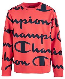Champion Toddler Boys Script-Print Sweatshirt