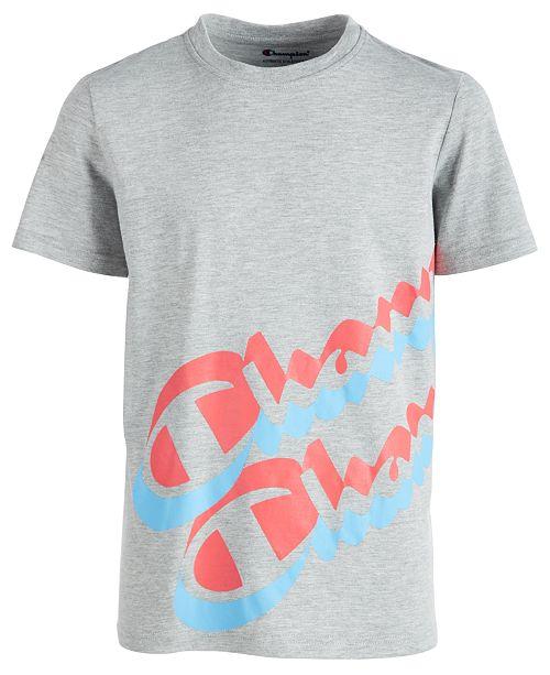 cf08f9c8 Champion Toddler Boys Logo-Print T-Shirt & Reviews - Shirts & Tees ...