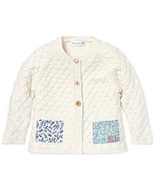 Polo Ralph Lauren Baby Girls Patchwork Cotton Cardigan