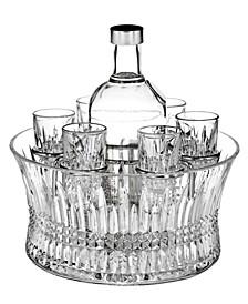 Barware, Lismore Diamond Vodka Set with Chill Bowl
