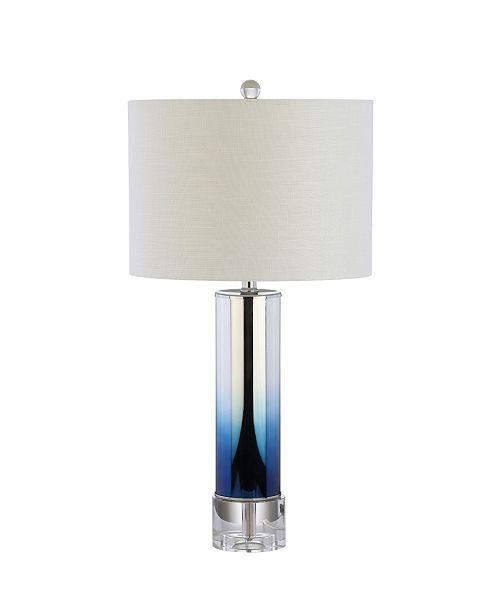 JONATHAN Y Edward Glass or Crystal Led Table Lamp