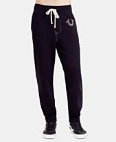 53f09f5953 True Religion Men s Classic Logo Jogger Sweatpants