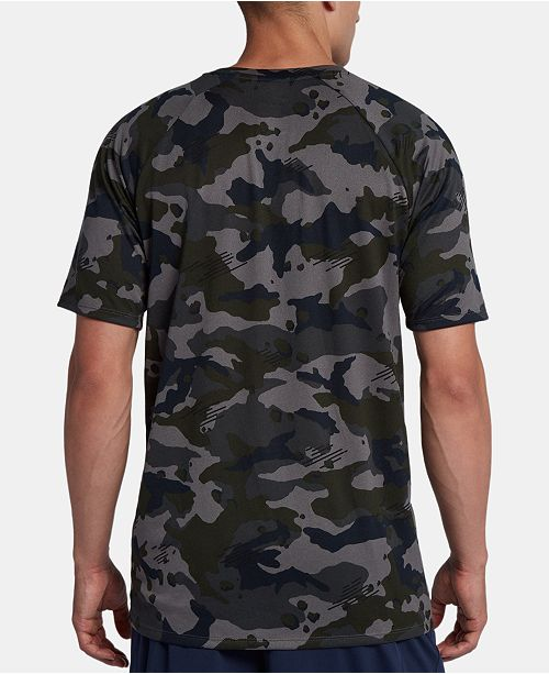 6be1f31f Nike Men's Dry Legend Camo-Print T-Shirt & Reviews - T-Shirts - Men ...