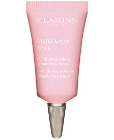 Get More! Free Multi-Active Eye sample with $85 Clarins purchase