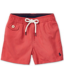 Polo Ralph Lauren Baby Boys Traveler Twill Swim Trunks