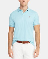 55c1a1f885 Polo Ralph Lauren Men s Custom Slim Fit Soft Touch Cotton Polo