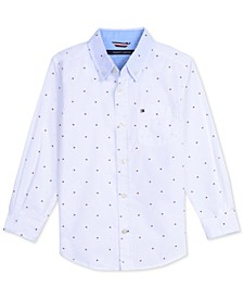 Baby Boys Printed Cotton Shirt