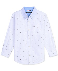 Tommy Hilfiger Baby Boys Printed Cotton Shirt