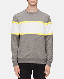 Calvin Klein Men's Colorblocked Sweatshirt