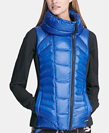 DKNY Sport Asymmetrical-Zip Vest, Created for Macy's