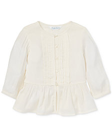 Polo Ralph Lauren Baby Girls Gauze Boho Top