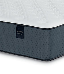 "MacyBed Lux Baxter 13.5"" Plush Hybrid Mattress - Queen, Created for Macy's"