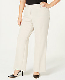 Alfani Plus Size Curvy Bootcut Pants, Created for Macy's