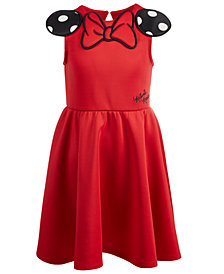 Disney Little Girls Minnie Mouse Scuba Dress