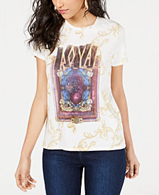 GUESS Royal Graphic-Print T-Shirt