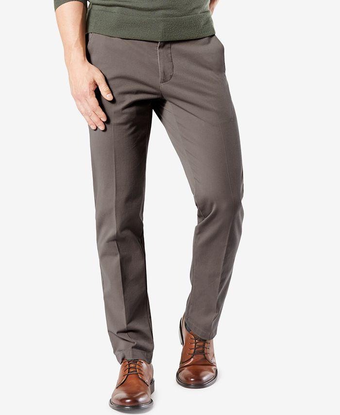 Dockers - Men's Stretch Straight Fit Khakis