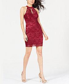 GUESS Cellesta Lace Keyhole Dress