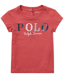 Polo Ralph Lauren Baby Girls Logo Graphic T-Shirt