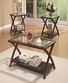 Finn Three-Piece Occasional Table Set