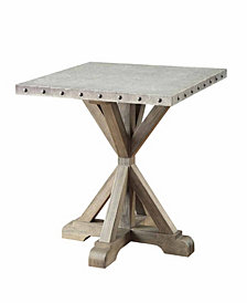 Abigail Industrial End Table