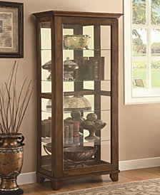 Nathan Casual Curio Cabinet