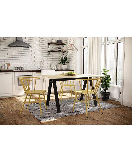 Novogratz Collection Novogratz Campbell Rectangular Dining Table