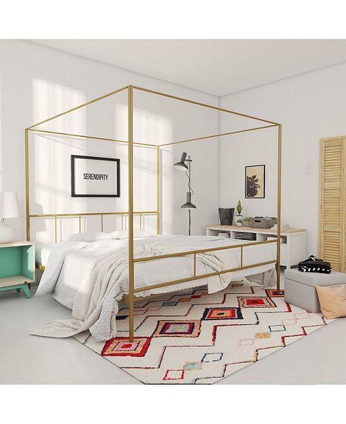 Novogratz Collection Marion Canopy Bed