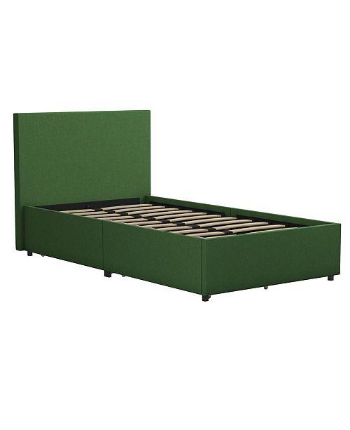 Novogratz Collection Novogratz Kelly Upholstered Twin Bed With