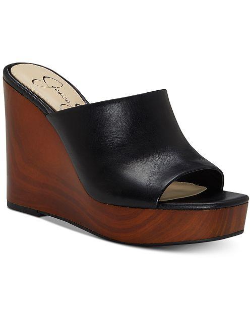 8239f6a0b08 Jessica Simpson Shantelle Slide Wedge Sandals   Reviews - Sandals ...
