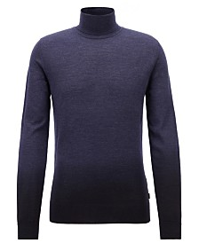 BOSS Men's Dip-Dyed Turtleneck Sweater