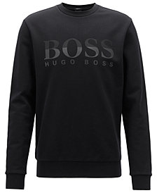 BOSS Men's Logo Graphic Cotton Sweatshirt