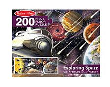 Exploring Space Floor Puzzle (200 Pc)
