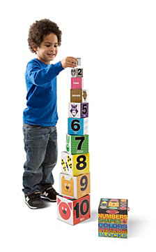Nesting Blocks - Numbers, Shapes, Colors