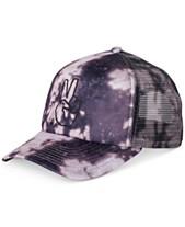 9b7ead101e9 Neff Men s Peace Acid-Wash Embroidered Trucker Hat