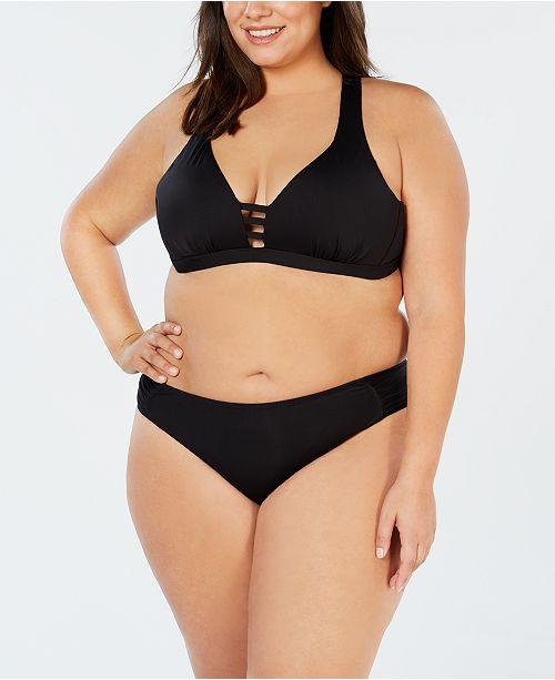 Becca ETC Plus Size Bikini Top & Hipster Bottoms