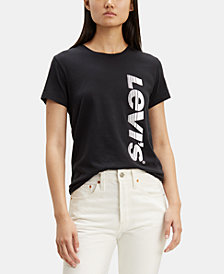 Levi's® Cotton Graphic-Print Logo T-Shirt