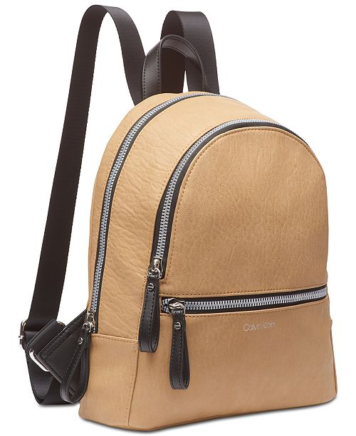 3f52589084 Calvin Klein Elaine Backpack & Reviews - Handbags & Accessories - Macy's