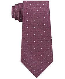 Calvin Klein Men's Reflective Dot Slim Tie