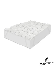 CLOSEOUT! SensorPEDIC Full Quilted Memory Foam and Micro Feather Mattress Topper