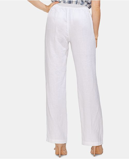 coulissant Ultra large a pour femmes Pantalon cordon Vince lin et White Camuto en a glissière zjSMGLqUVp