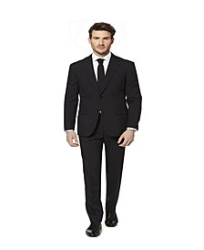 Men's Black Knight Solid Suit
