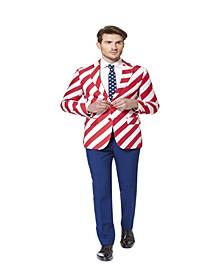 Men's United Stripes Americana Suit