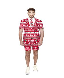 Men's Summer Winter Wonderland Christmas Suit