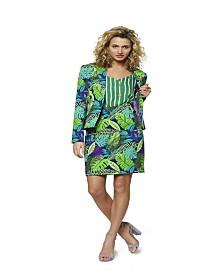 OppoSuits Women's Jungle Jane Plant Suit