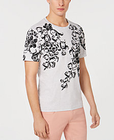I.N.C. Men's Floral Print T-Shirt, Created for Macy's