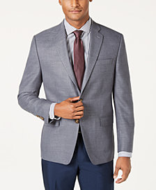 Lauren Ralph Lauren Men's Classic-Fit UltraFlex Stretch Gray Sport Coat