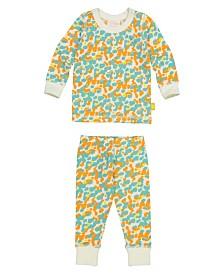 Masala Baby Organic Cotton Baby Longsleeve Pajamas Unisex
