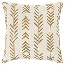 """Donny Osmond 20"""" X 20"""" Striped Pillow Cover"""